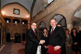 Návšteva pána prezidenta Andreja Kisku v Kúpeľoch Trenčianske Teplice