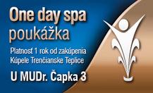 One day spa - U MUDr. Čapka 3