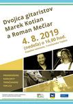 Promenádny koncert: Dvojica gitaristov Marek Kotian a Roman Mečiar