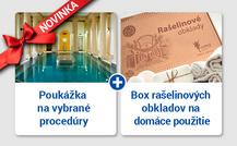 Darčekové poukážky na nákup kúpeľných procedúr s rešelinovým obkladom