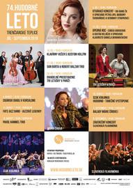 Hudobné leto Trenčianske Teplice 2019 - program
