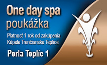 One day spa - Perla Teplíc 1
