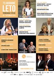 Hudobné leto Trenčianske Teplice 2018 - program