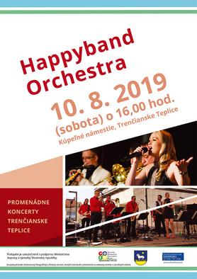 Promenádny koncert: Happyband Orchestra