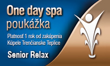 One day spa - Senior Relax