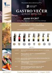 Gastro večer Trenčianske Teplice 2017