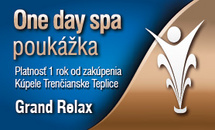 One day spa - Grand Relax