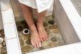 Striedavý šľapací kúpeľ
