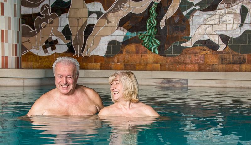 Termálny bazén Sina - Kúpele Trenčianske Teplice