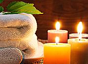 Adventné kúpanie pri sviečkach