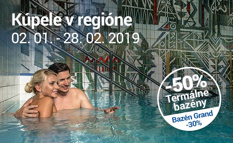 Akcia Kúpele v regióne Trenčianske Teplice