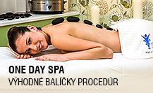 One day spa - výhodné balíčky procedúr