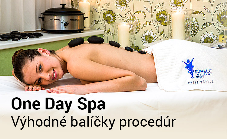 Výhodné balíčky procedúr v kúpeľoch