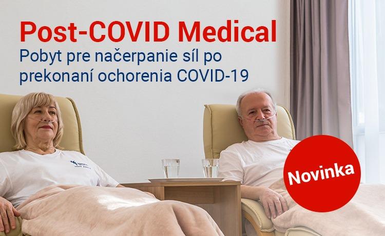Nový liečebný pobyt Post-COVID Medical