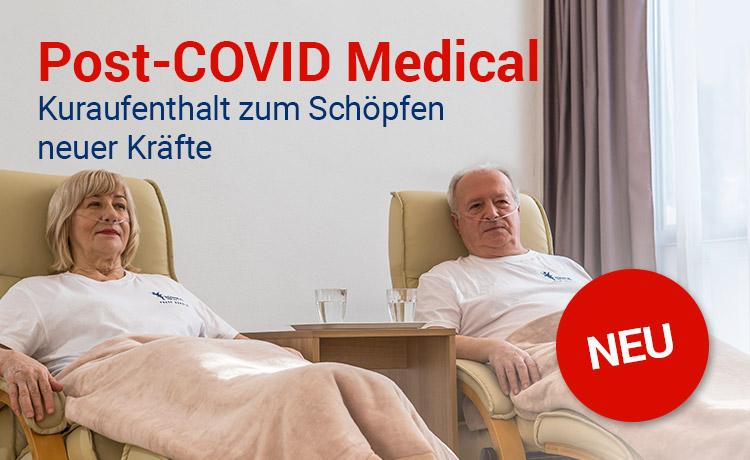 Post-COVID Medical - Kuraufenthalt zum Schöpfen neuer Kräfte