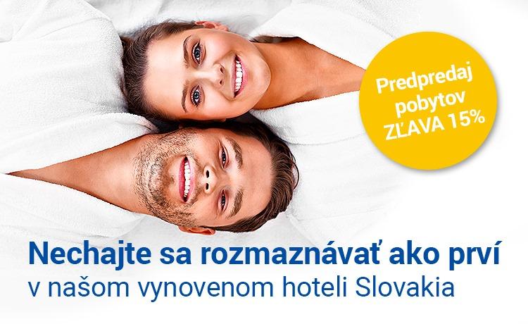 Predpredaj pobytov v Slovakii - Akcia